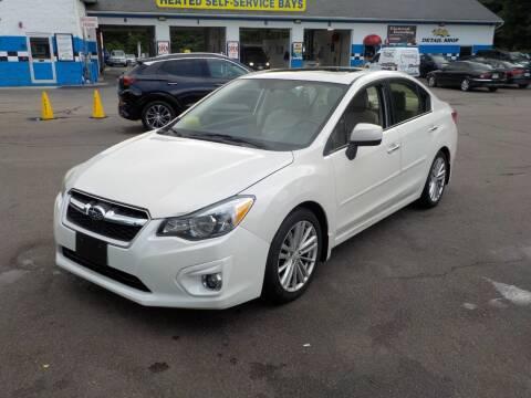 2013 Subaru Impreza for sale at RTE 123 Village Auto Sales Inc. in Attleboro MA