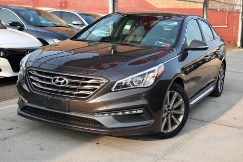2017 Hyundai Sonata for sale at HILLSIDE AUTO MALL INC in Jamaica NY