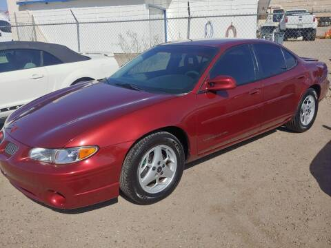 2003 Pontiac Grand Prix for sale at ACE AUTO SALES in Lake Havasu City AZ