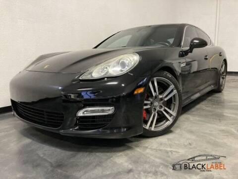 2010 Porsche Panamera for sale at BLACK LABEL AUTO FIRM in Riverside CA