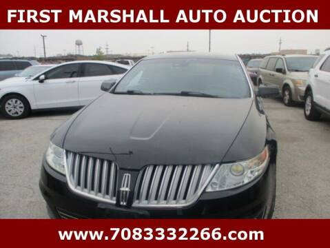 2010 Lincoln MKS for sale at First Marshall Auto Auction in Harvey IL