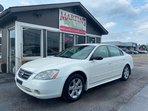 2003 Nissan Altima for sale at Martins Auto Sales in Shelbyville KY
