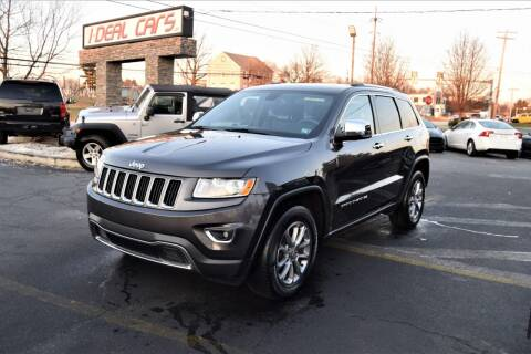 2015 Jeep Grand Cherokee for sale at I-DEAL CARS in Camp Hill PA