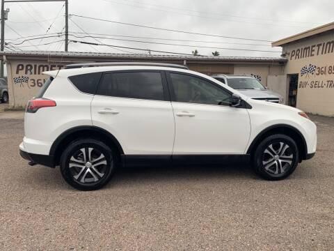 2018 Toyota RAV4 for sale at Primetime Auto in Corpus Christi TX