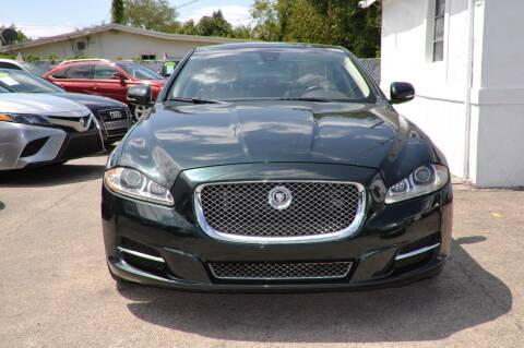 2011 Jaguar XJ for sale at INTERNATIONAL AUTO BROKERS INC in Hollywood FL