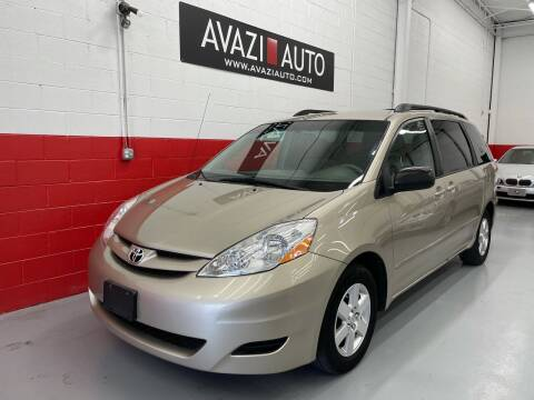 2009 Toyota Sienna for sale at AVAZI AUTO GROUP LLC in Gaithersburg MD