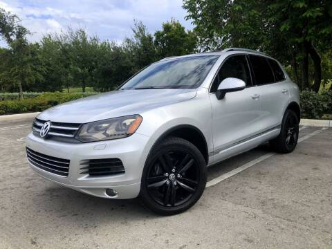 2011 Volkswagen Touareg for sale at CARSTRADA in Hollywood FL