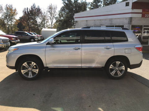 2012 Toyota Highlander for sale at Northwood Auto Sales in Northport AL