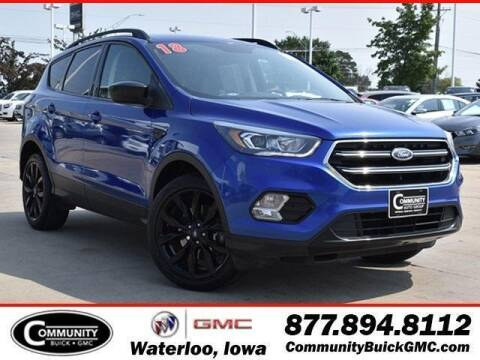 2018 Ford Escape for sale at Community Buick GMC in Waterloo IA