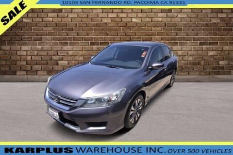 2015 Honda Accord for sale at Karplus Warehouse in Pacoima CA
