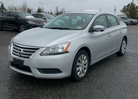 2013 Nissan Sentra for sale at GLOVECARS.COM LLC in Johnstown NY