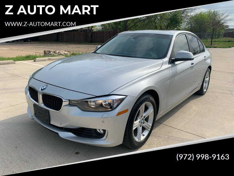 2014 BMW 3 Series for sale at Z AUTO MART in Lewisville TX