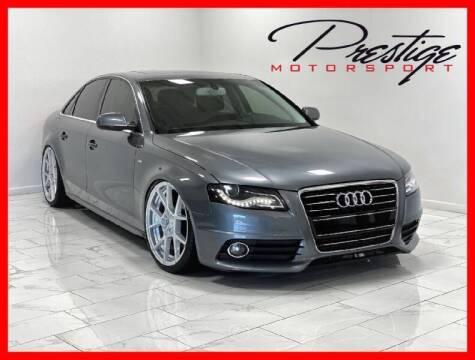 2012 Audi A4 for sale at Prestige Motorsport in Rancho Cordova CA