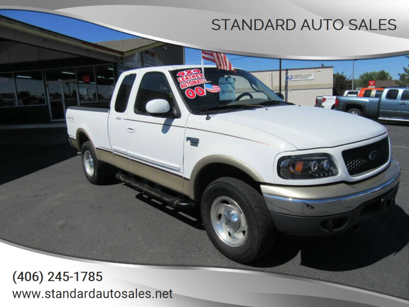 2000 Ford F-150 for sale at Standard Auto Sales in Billings MT
