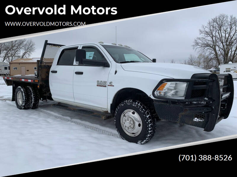 2014 RAM Ram Chassis 3500 for sale at Overvold Motors in Detriot Lakes MN