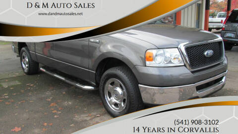 2007 Ford F-150 for sale at D & M Auto Sales in Corvallis OR