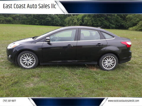 2012 Ford Focus for sale at East Coast Auto Sales llc in Virginia Beach VA
