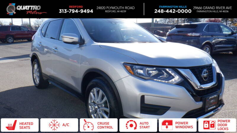 2019 Nissan Rogue for sale at Quattro Motors 2 - 1 in Redford MI