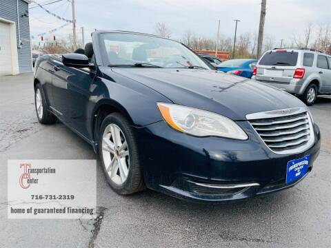 2011 Chrysler 200 Convertible for sale at Transportation Center Of Western New York in Niagara Falls NY
