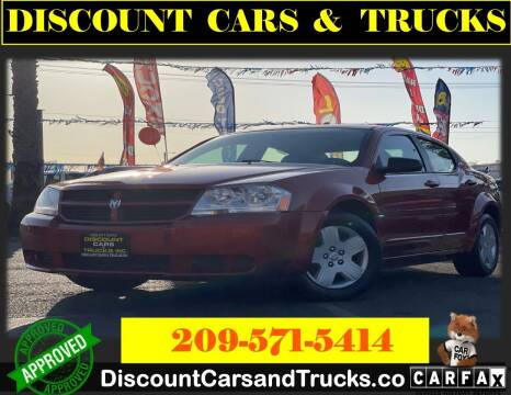 2008 Dodge Avenger for sale at Discount Cars & Trucks in Modesto CA