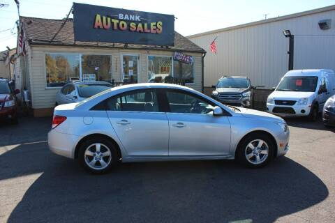 2011 Chevrolet Cruze for sale at BANK AUTO SALES in Wayne MI