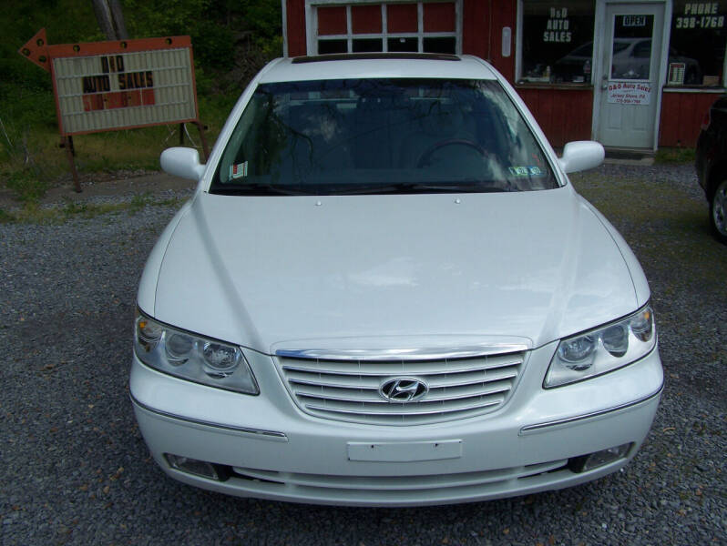 2007 Hyundai Azera for sale at D & D AUTO SALES in Jersey Shore PA