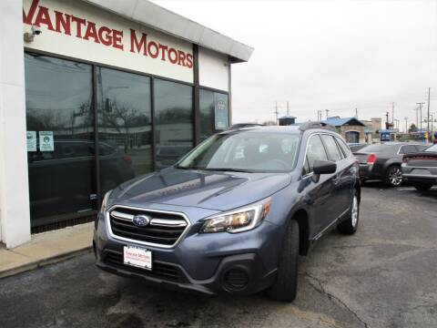 2018 Subaru Outback for sale at Vantage Motors LLC in Raytown MO