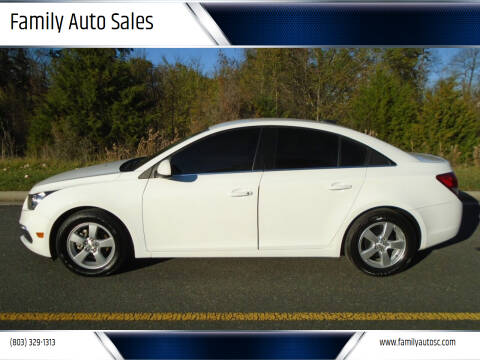 2016 Chevrolet Cruze Limited for sale at Family Auto Sales in Rock Hill SC