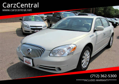 2010 Buick Lucerne for sale at CarzCentral in Estherville IA
