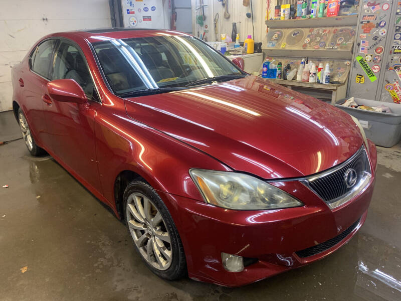 2008 Lexus IS 250 for sale at BURNWORTH AUTO INC in Windber PA