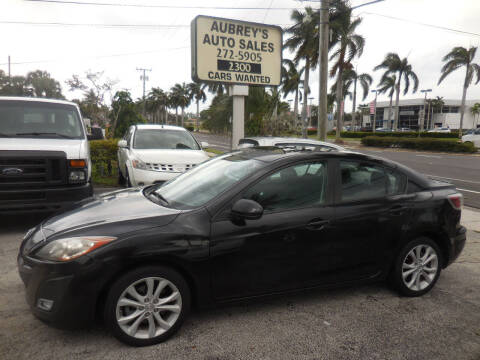 2010 Mazda MAZDA3 for sale at Aubrey's Auto Sales in Delray Beach FL