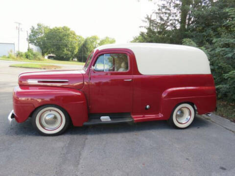 1948 Ford Panel Truck for sale at Hines Auto Sales in Marlette MI