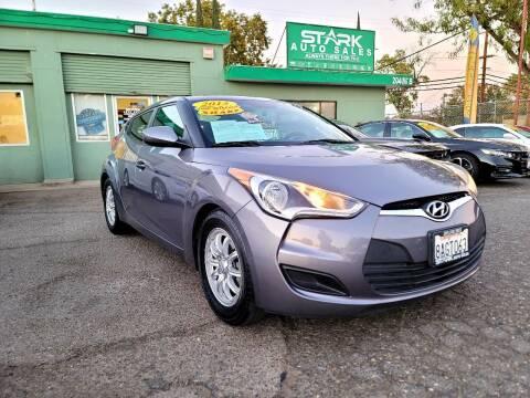 2015 Hyundai Veloster for sale at Stark Auto Sales in Modesto CA