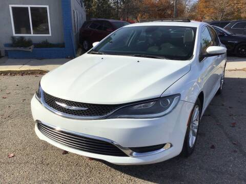 2016 Chrysler 200 for sale at One Price Auto in Mount Clemens MI