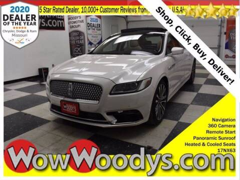 2017 Lincoln Continental for sale at WOODY'S AUTOMOTIVE GROUP in Chillicothe MO