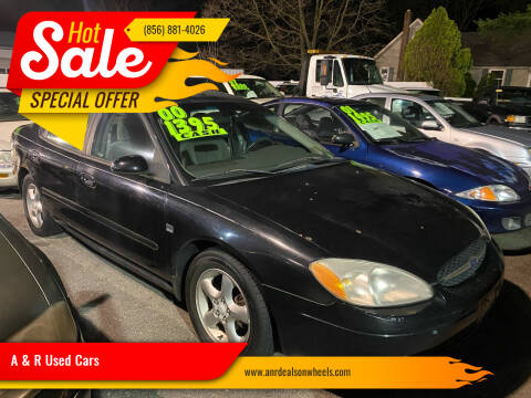 2000 Ford Taurus for sale at A & R Used Cars in Clayton NJ
