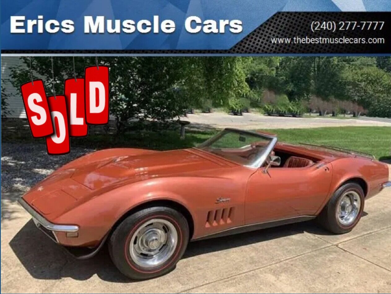 1968 Chevrolet Corvette Convertible  SOLD SOLD SOLD
