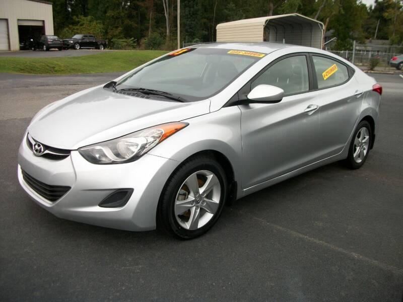 2013 Hyundai Elantra for sale at Lentz's Auto Sales in Albemarle NC