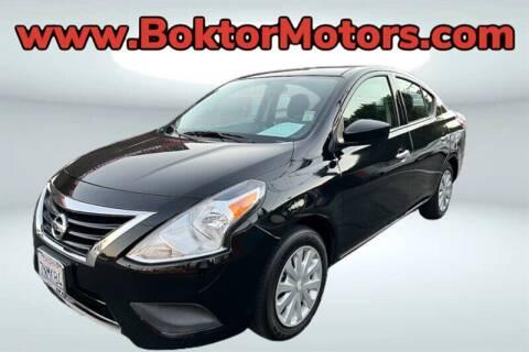 2015 Nissan Versa for sale at Boktor Motors in North Hollywood CA