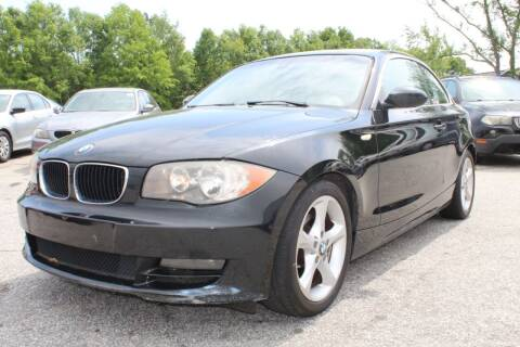 2009 BMW 1 Series for sale at UpCountry Motors in Taylors SC