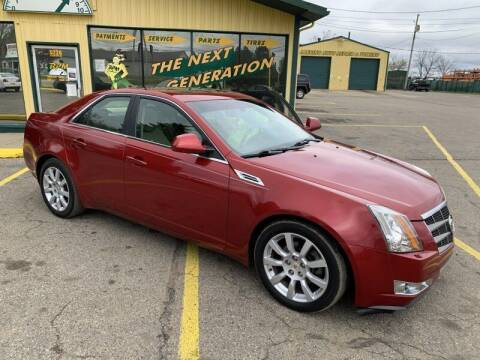2009 Cadillac CTS for sale at RPM AUTO SALES in Lansing MI