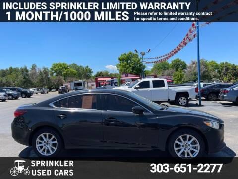 2015 Mazda MAZDA6 for sale at Sprinkler Used Cars in Longmont CO