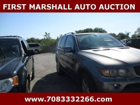 2005 BMW X5 for sale at First Marshall Auto Auction in Harvey IL