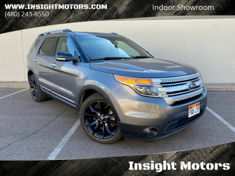 2013 Ford Explorer for sale at Insight Motors in Tempe AZ
