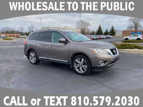 2014 Nissan Pathfinder for sale at Lasco of Grand Blanc in Grand Blanc MI