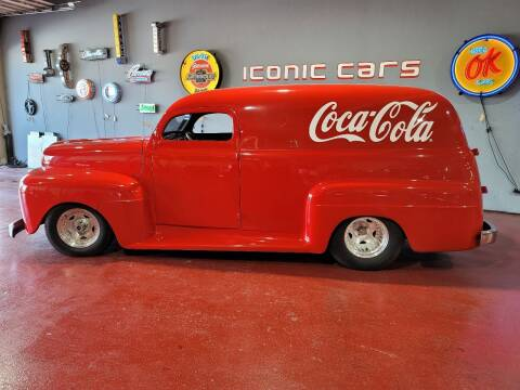 1951 Ford Panel Truck for sale at Iconic Motors of Oklahoma City, LLC in Oklahoma City OK
