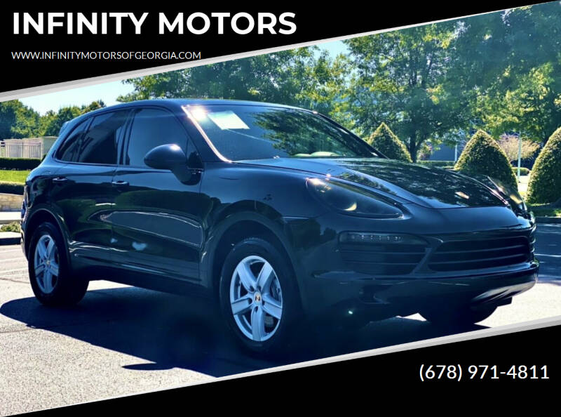 2012 Porsche Cayenne for sale at INFINITY MOTORS in Gainesville GA