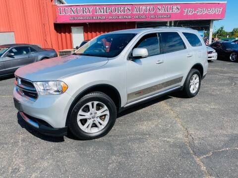 2011 Dodge Durango for sale at LUXURY IMPORTS AUTO SALES INC in North Branch MN