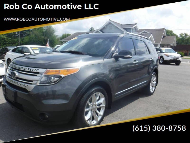 2015 Ford Explorer for sale at Rob Co Automotive LLC in Springfield TN