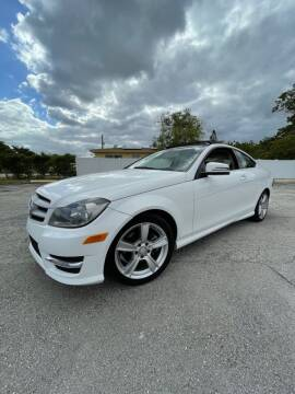 2013 Mercedes-Benz C-Class for sale at Easy Finance Motors in West Park FL